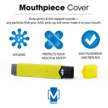 Yellow - Majide Ultra Thin Vapor Case Compatible with JUUL | 3-in-1 Protection Technology and Hybrid Drop Protection - Never Lose Your Device Again!
