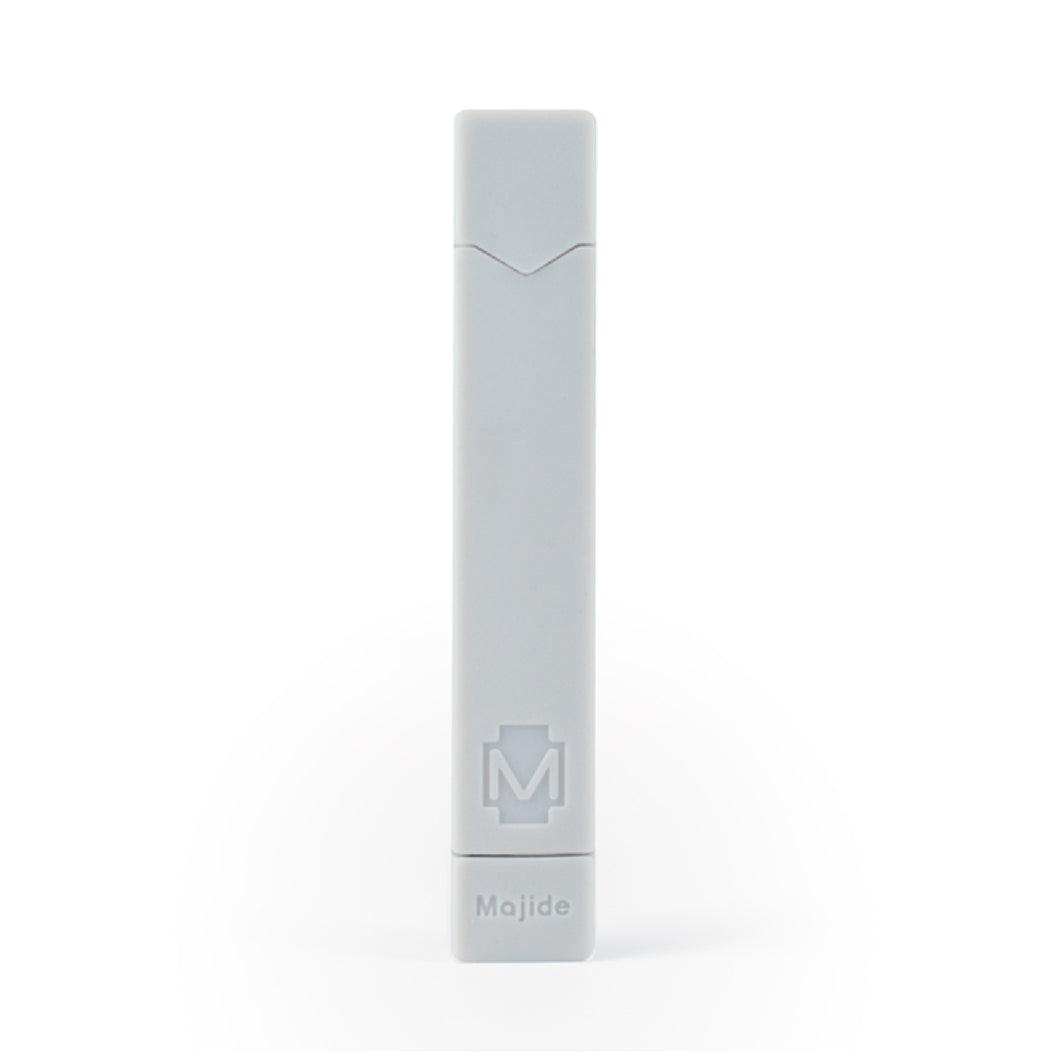 Off White  - Majide Ultra Thin Vapor Case Compatible with JUUL | 3-in-1 Protection Technology and Hybrid Drop Protection - Never Lose Your Device Again!