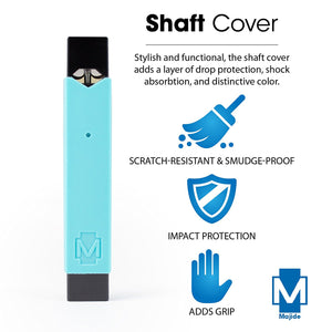 Tiffany Blue - Majide Ultra Thin Vapor Case Compatible with JUUL | 3-in-1 Protection Technology and Hybrid Drop Protection - Never Lose Your Device Again!