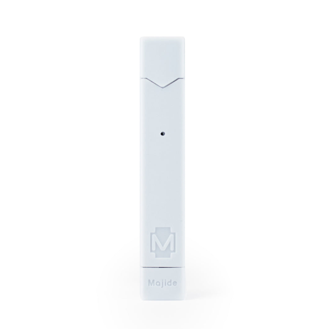 White - Majide Ultra Thin Vapor Case Compatible with JUUL | 3-in-1 Protection Technology and Hybrid Drop Protection - Never Lose Your Device Again!