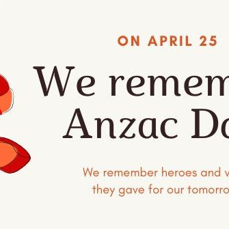 We Remember - Aussie Baby