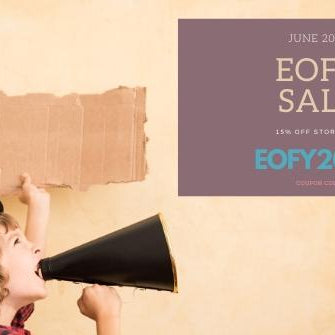 End of Finanical Year EOFY 2020 Sale - Aussie Baby