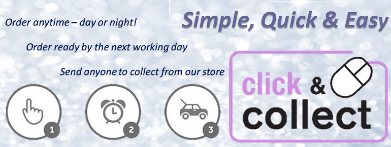 click & collect banner