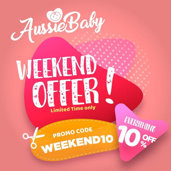 Aussie Baby Weekend Only Promo