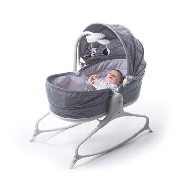 Tiny Love Cozy Rocker Napper 3 in 1 Heather Grey - Aussie Baby