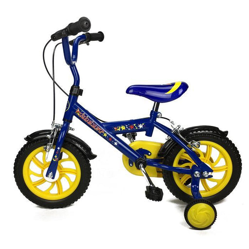 Rocket Blue 12 inch Boys Pavement Cycle Bicycle Bike with Training Wheel - Aussie Baby