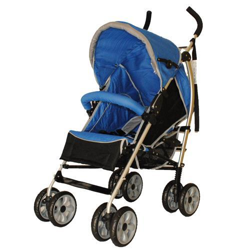 Aussie Baby Travel Easy Lightweight Stroller - Blue - Aussie Baby