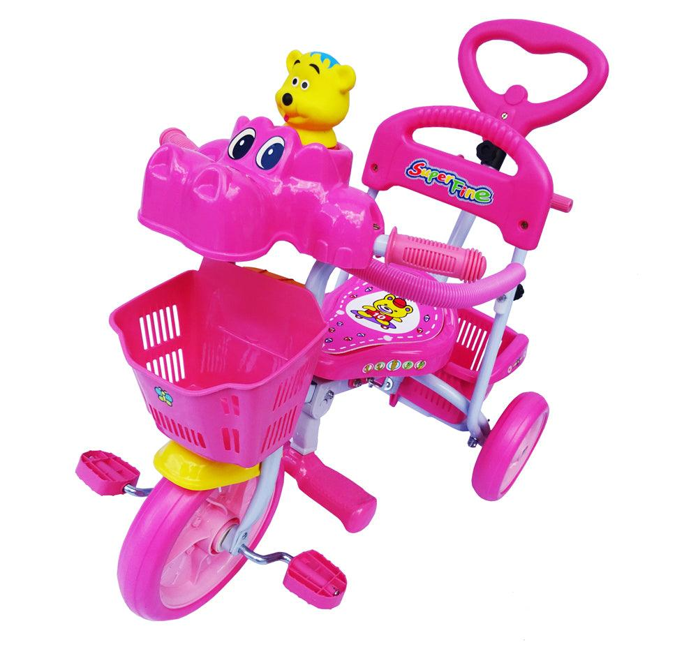 Little Hippo Tricycle - Pink