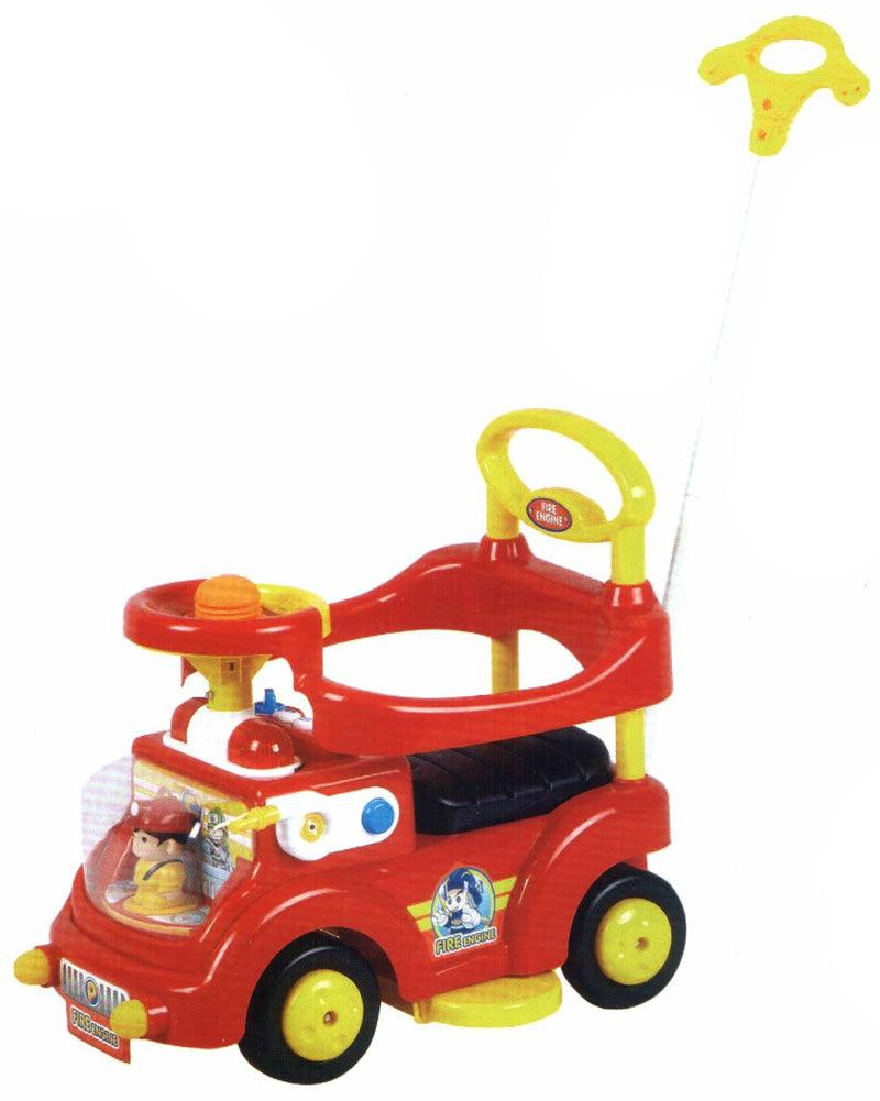 Fire Truck Plus Ride On - Red