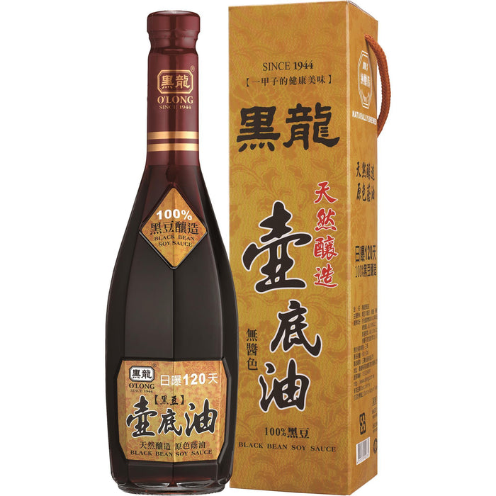 O'LONG Superior-Black Bean Soy Sauce Base (600mL) - Aussie Baby