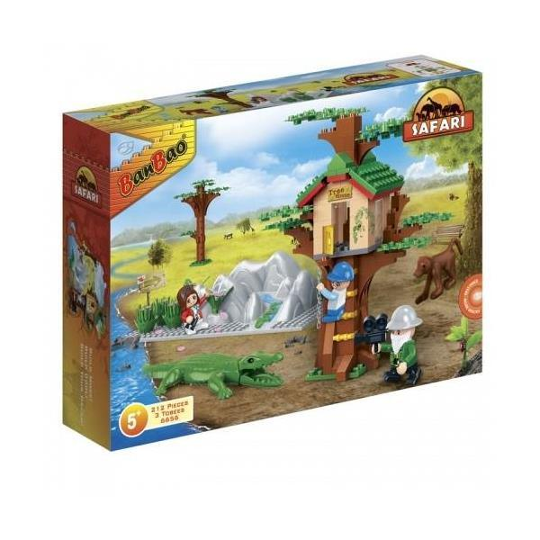 BanBao Safari - Animal Ground Tree House 6656
