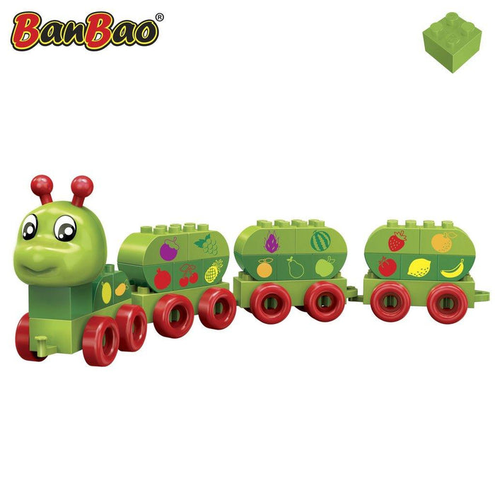 BanBao Learning Caterpillar - Fruity Caterpillar 9101