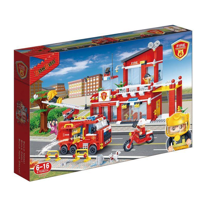 BanBao Fire and Rescue - Fire Central Station 7101
