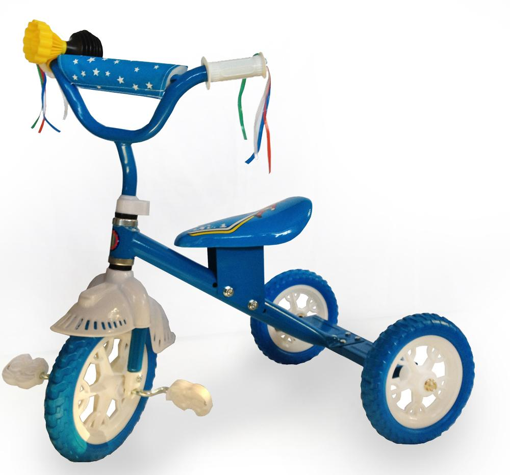 Simple Star Tricycle - Blue