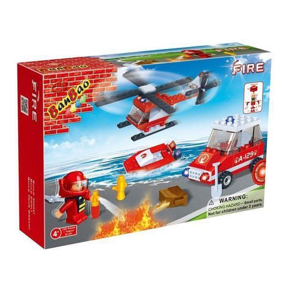 BanBao Fire and Rescue - Fire Fighting 8129
