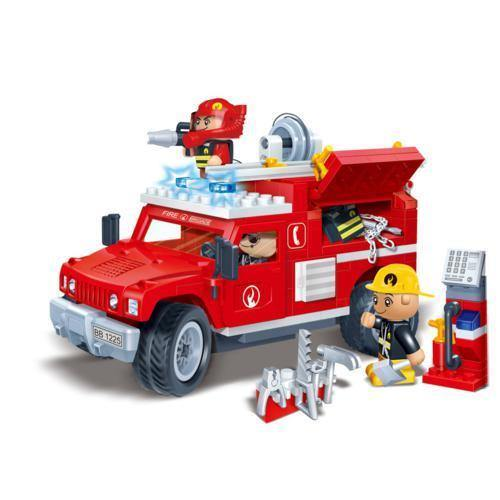 BanBao Fire and Rescue - Fire Jeep 8316