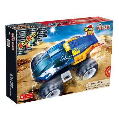 BanBao Turbo Power Racing Car - Shark 8602
