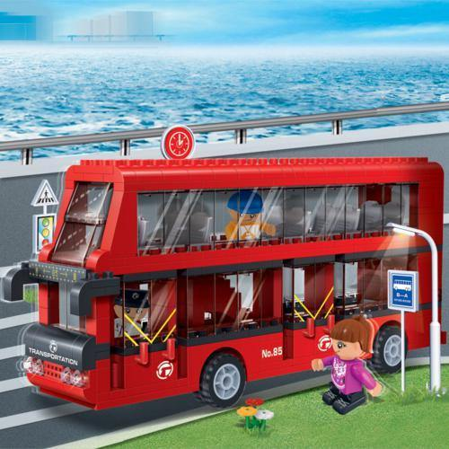 BanBao City Transport - Double Decker Bus 8769