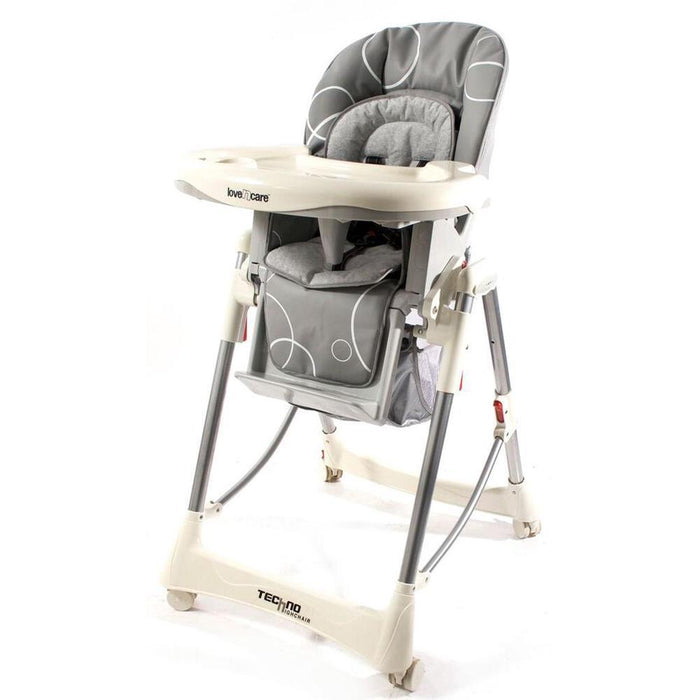 Love N Care Deluxe Techno High Chair - Grey