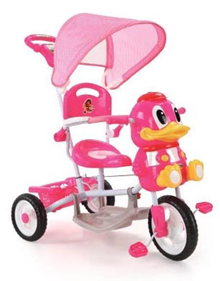 A27-3 Duck Tricycle - Pink