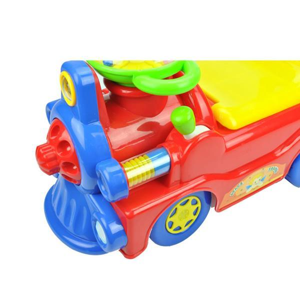 Locomotive Ride-On Car - Red - Aussie Baby