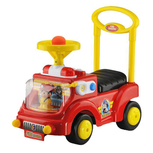 Kids Toddler Red Fire Engine Ride On Toy Walker Car - Aussie Baby