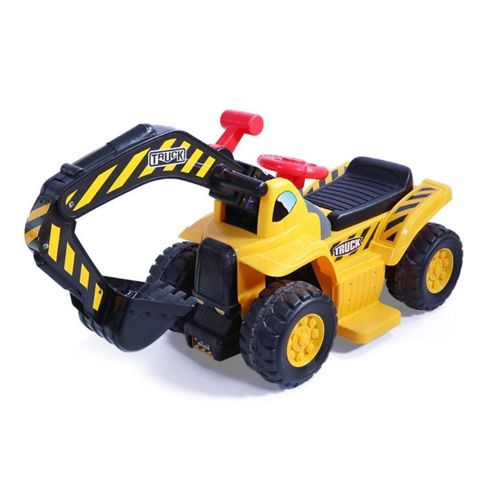 Kids Electric Ride on Car Digger Excavator