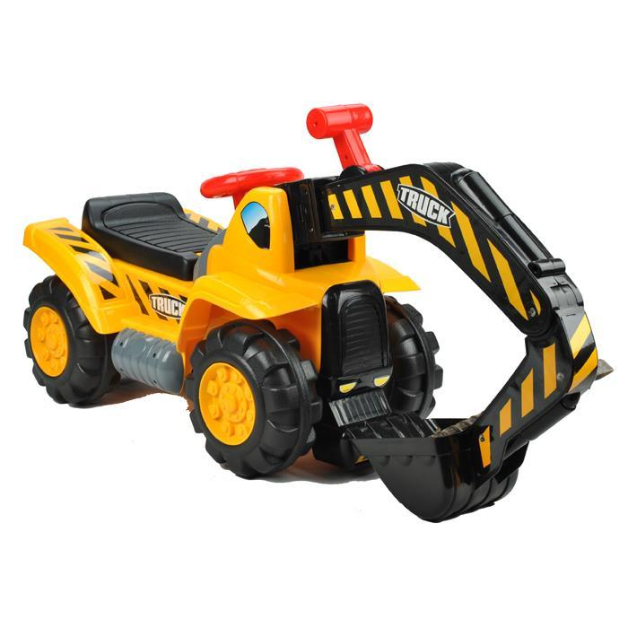 Kids Excavator Digger Ride-On Toy Truck