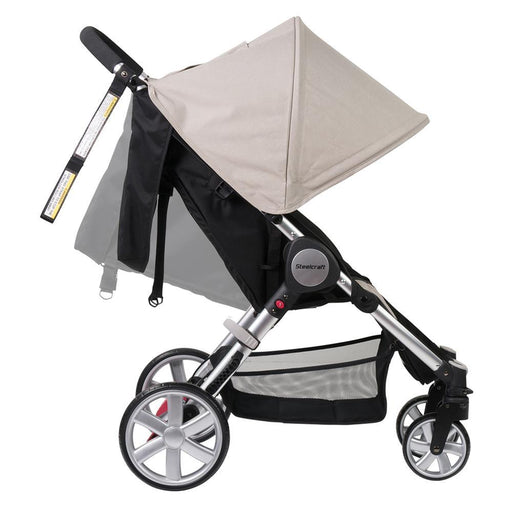 Steelcraft Agile 4™ Travel System Stroller - Natural Linen - Aussie Baby