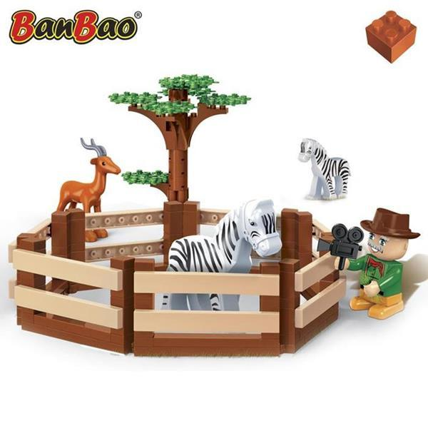 BanBao Safari - Animal Grounds 6661
