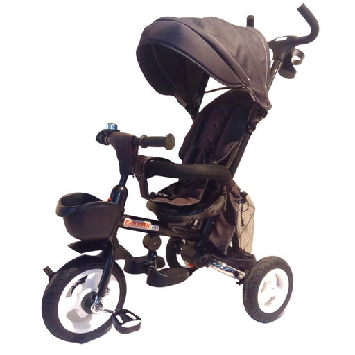 Deluxe Foldable Trike with Parent Control - Black - Aussie Baby