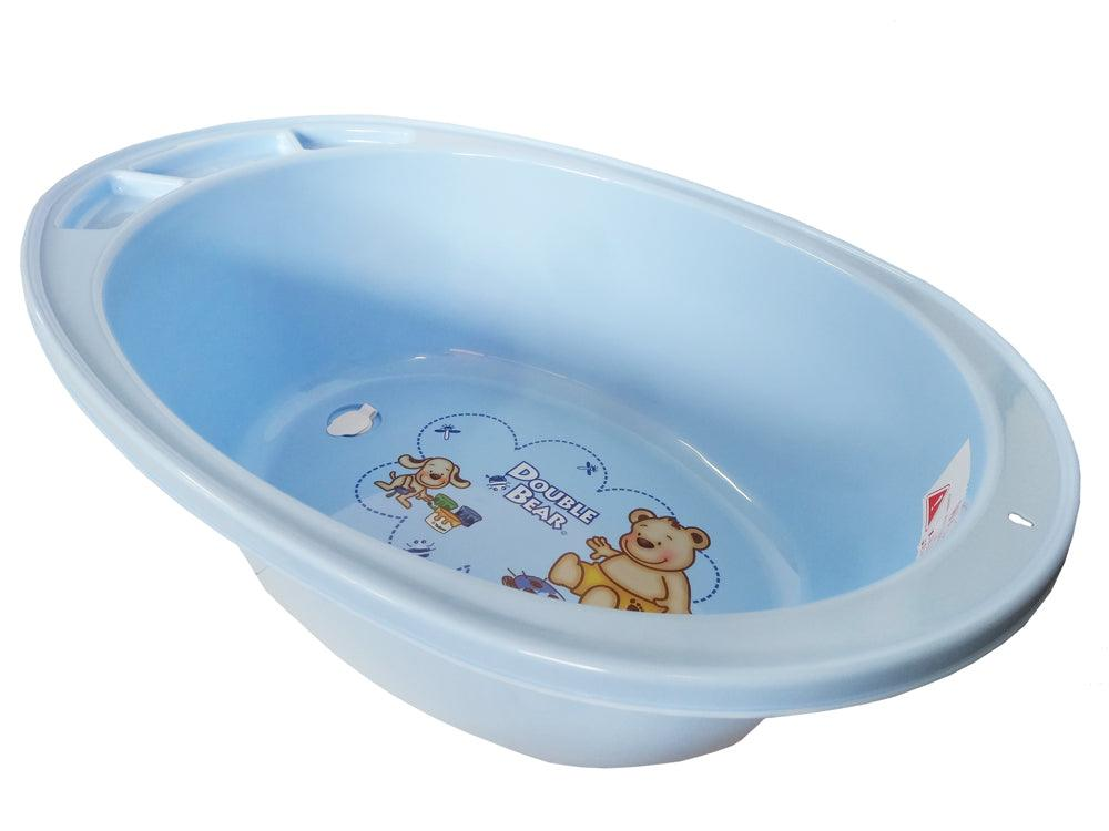 Large Double Bear Bath Tub - Blue