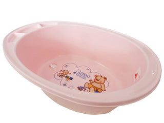 Large Double Bear Bath Tub - Pink