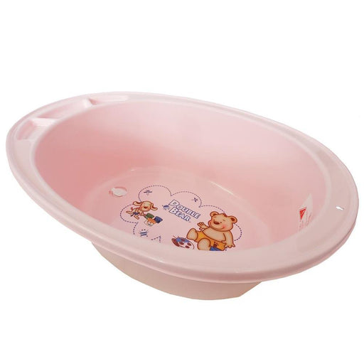 Large Double Bear Bath Tub - Pink - Aussie Baby