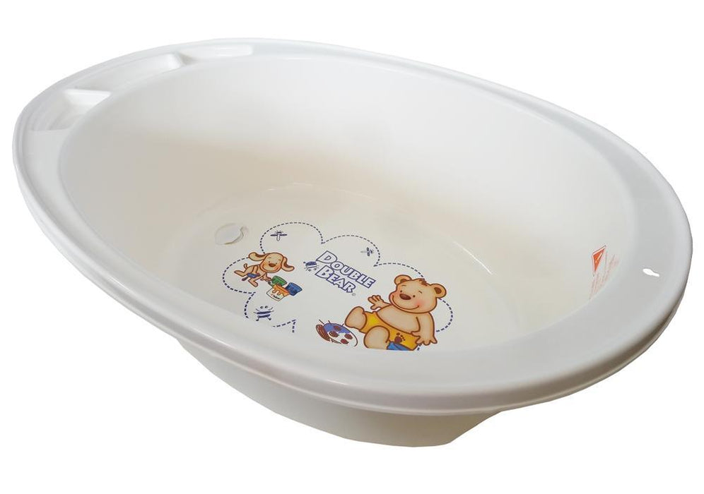 Large Double Bear Bath Tub - White - Aussie Baby