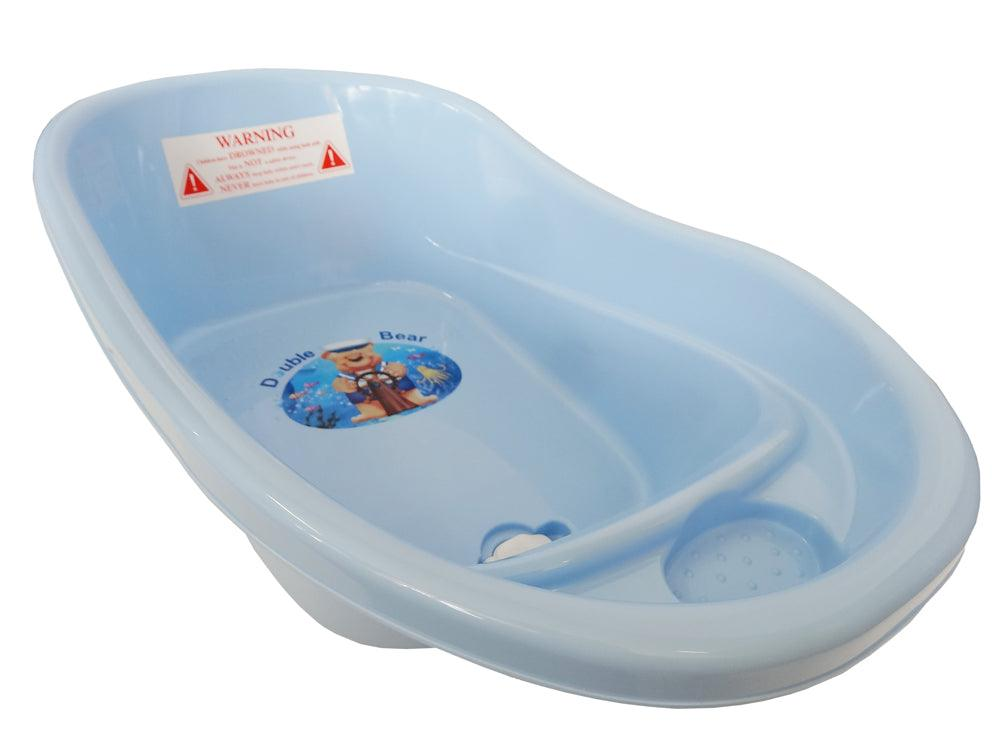 Small Double Bear Bath Tub - Blue