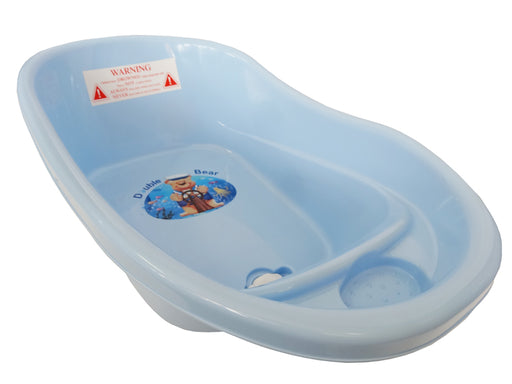 Small Double Bear Bath Tub - Blue - Aussie Baby