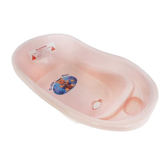 Small Double Bear Bath Tub - Pink - Aussie Baby