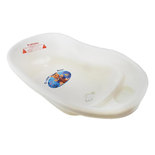 Small Double Bear Bath Tub - White - Aussie Baby
