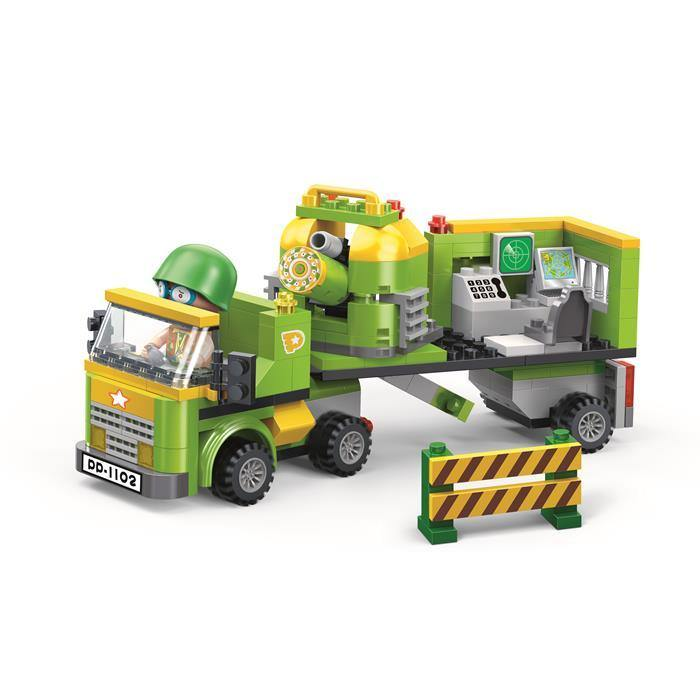 BanBao Cute Military - Orbital Commander Truck 6238