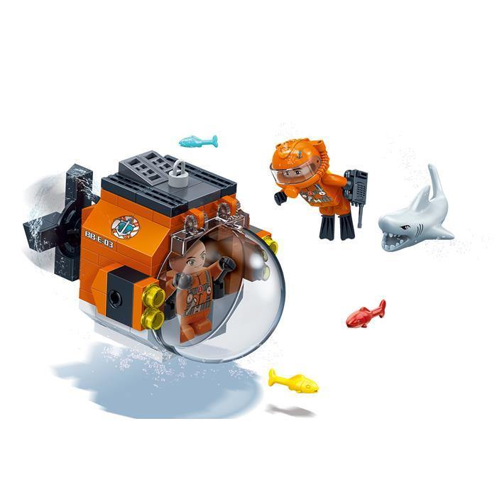 BanBao Duncan's Treasure - Duncan's Submersible Scouter 7417