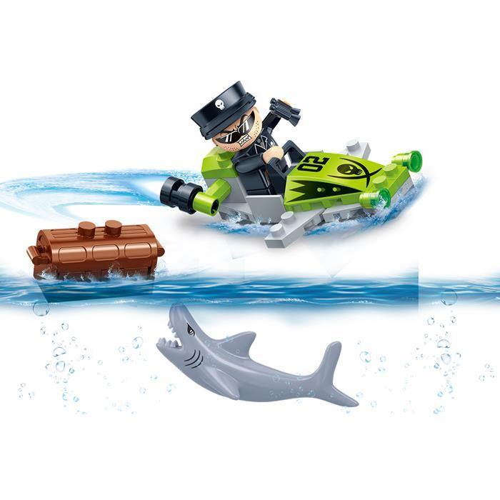 BanBao Duncan's Treasure - General Piranha's Wave Runner 7419