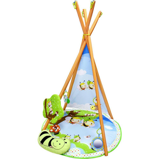 Busy Bee Play Gym & Fun Teepee - Aussie Baby