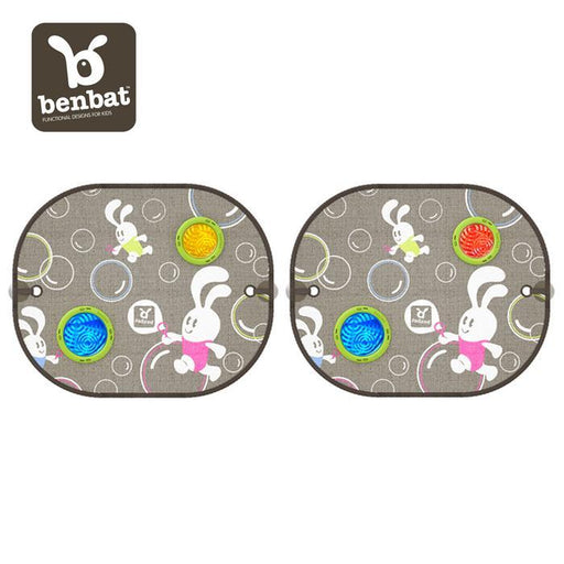 BenBat Bubble Dream Car Sunshade Round (2 Pack) - Aussie Baby