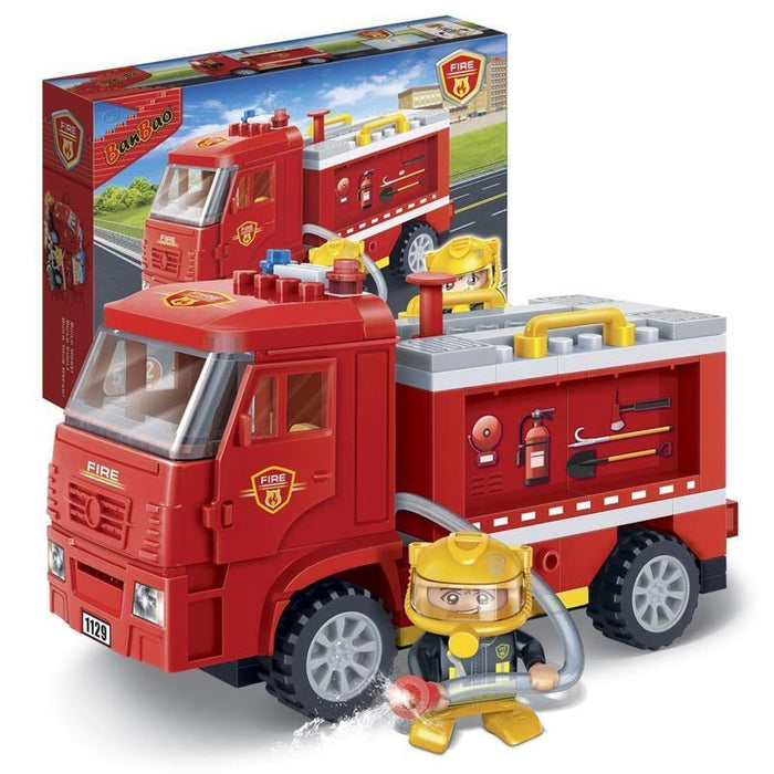 BanBao Fire and Rescue - Fire Rescue Truck 7116