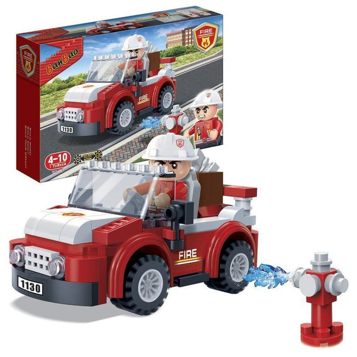 BanBao Fire and Rescue - Fire Captain Car 7117