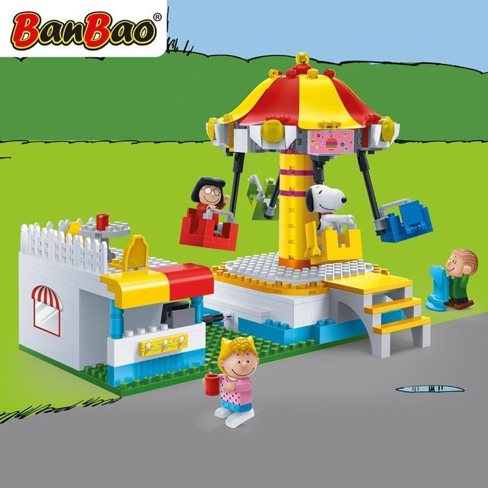 BanBao Peanuts - Swing Chair Ride 7505