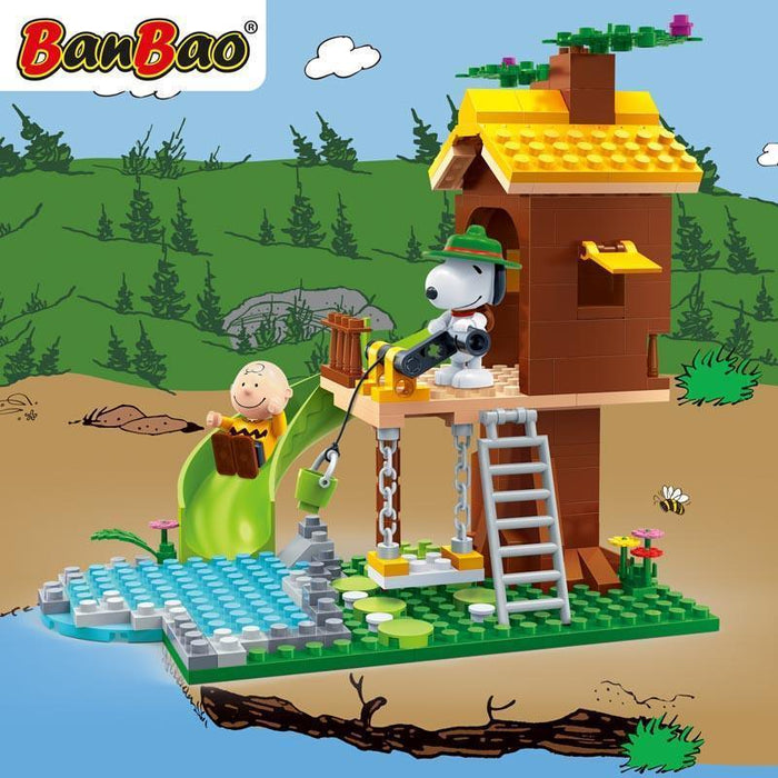 BanBao Peanuts - Snoopy Lookout Tower 7515