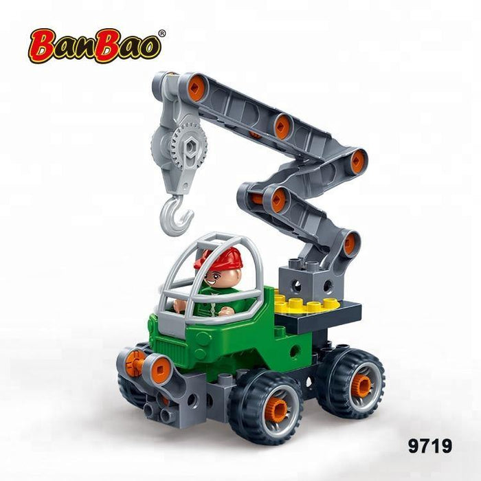 BanBao - Learning Tools - Mobile Crane 9719