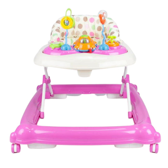 Baby Walker Play Activity Centre - Pink